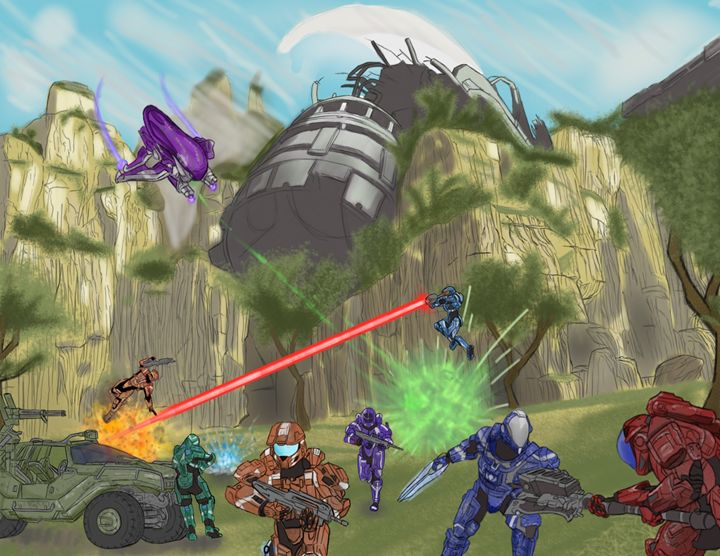 Halo - Art of Derek Payne