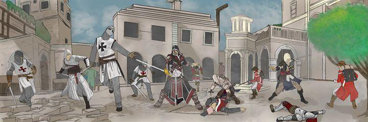 Legacy of the Assassins - Art of Derek Payne