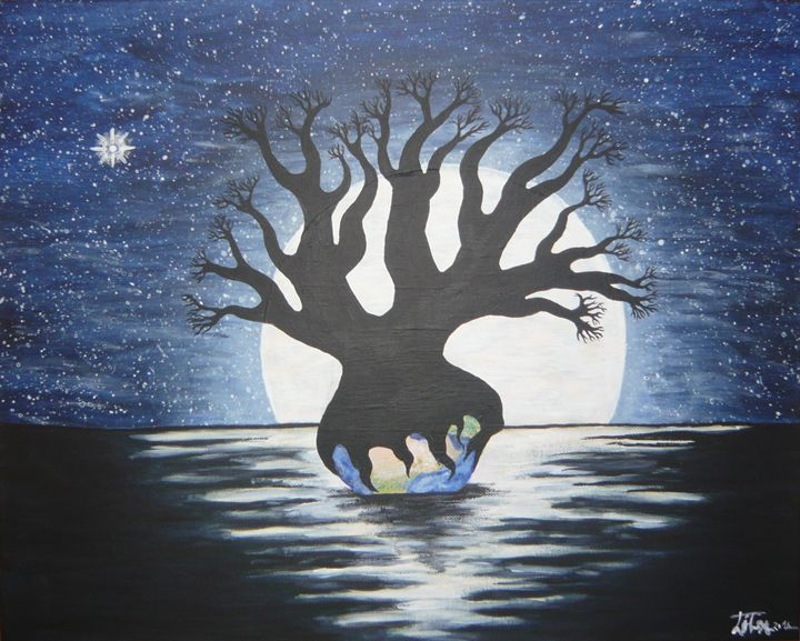 The power of nature - Libero´s art