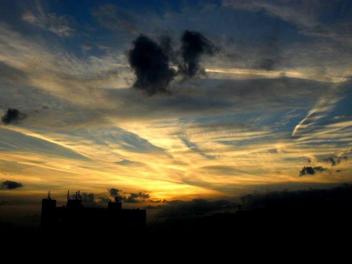 Sunset in my hometown - Libero´s art