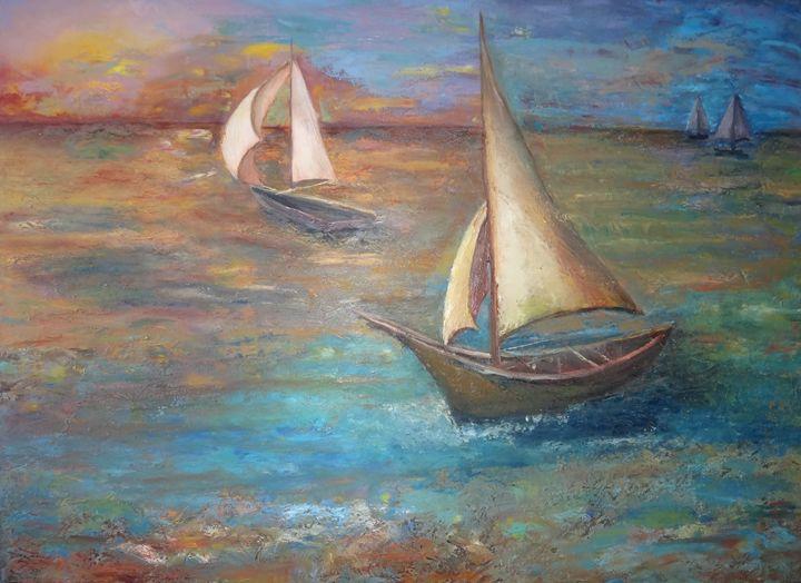 Boats - Gloria Cardenas