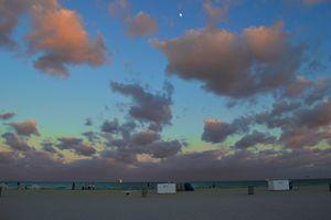 Sunset on South Beach
