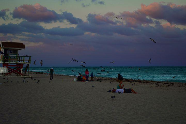 Purple Skies - Wardululu Alsaffar