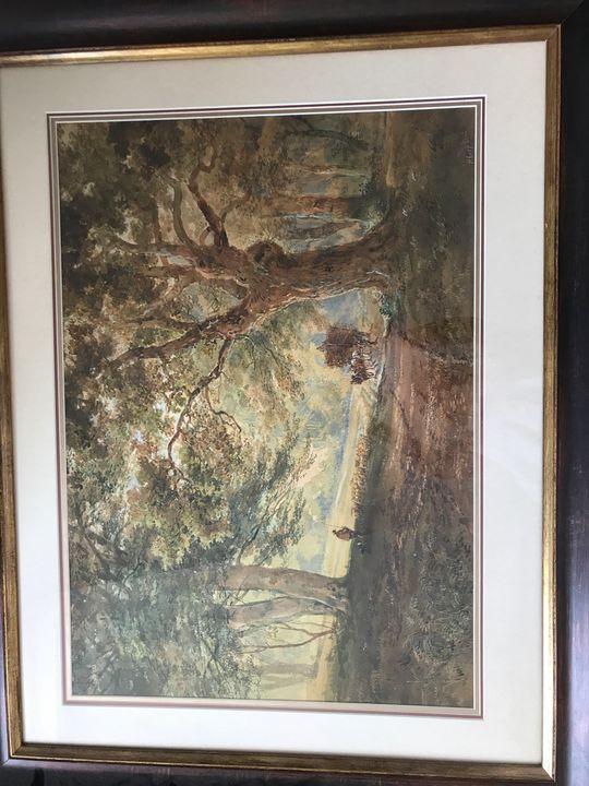 Henry Earp watercolour - Henry Earp