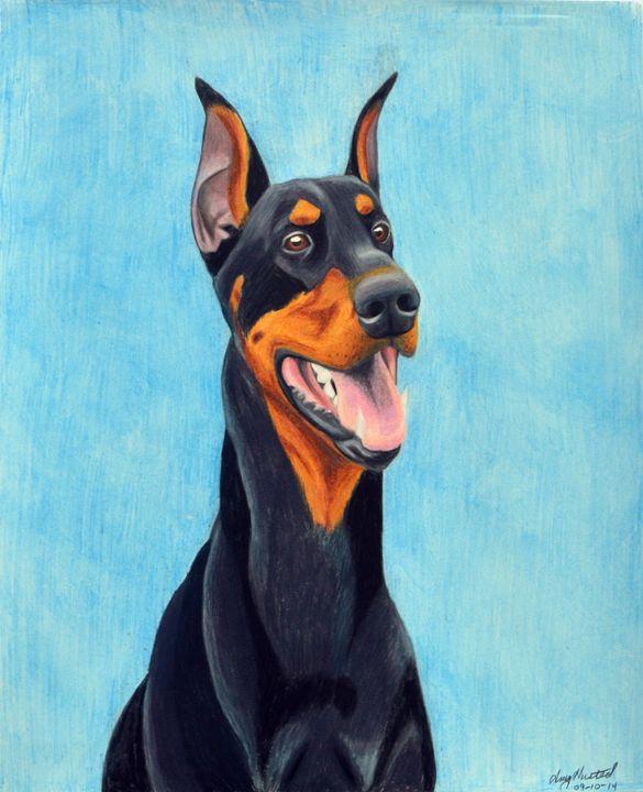 Happy Boy - Amy L. Husted Art