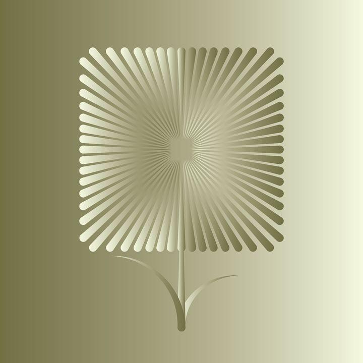 Golden square flower - feiermar