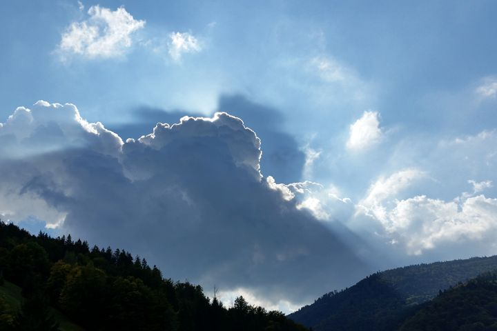 rays and clouds - feiermar
