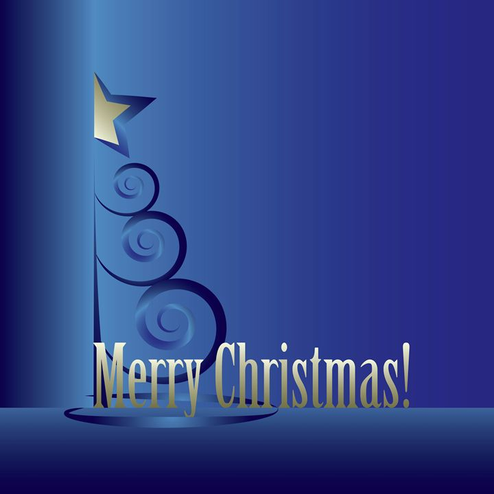 Sapphire Christmas tree - feiermar