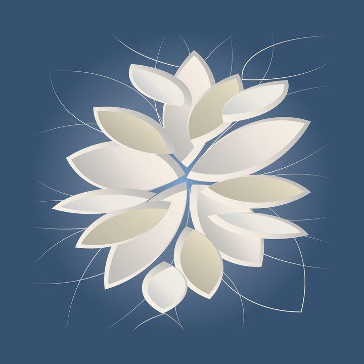 white stone petals - feiermar