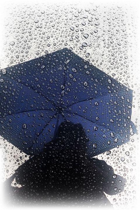 Blue umbrella - feiermar