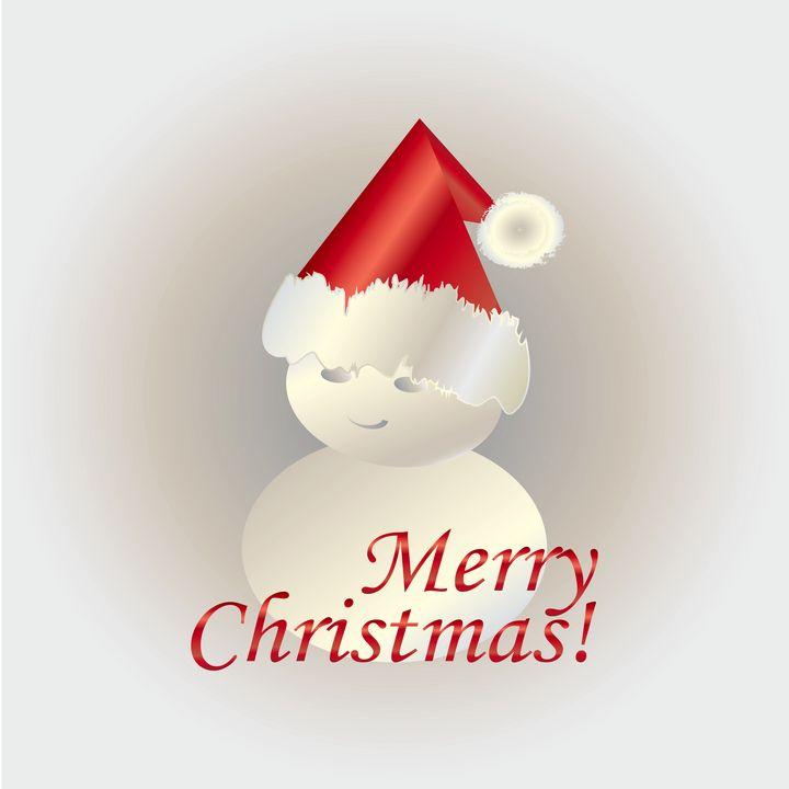 Christmas snowman - feiermar