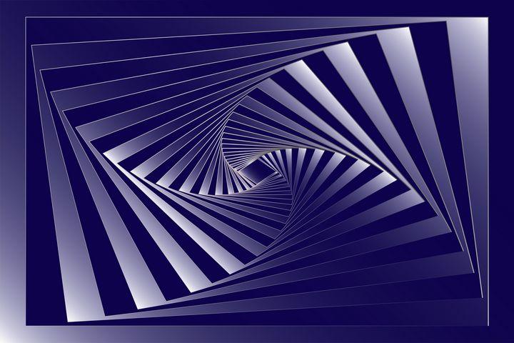 blue zebra geometry - feiermar