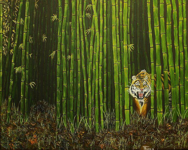 Tiger on the Stalk - T. Baze
