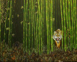Tiger on the Stalk
