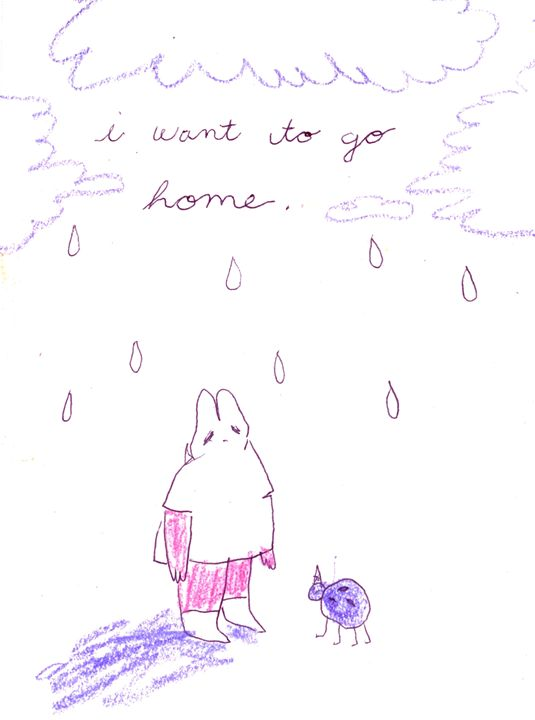 i want to go home - elliebeanz