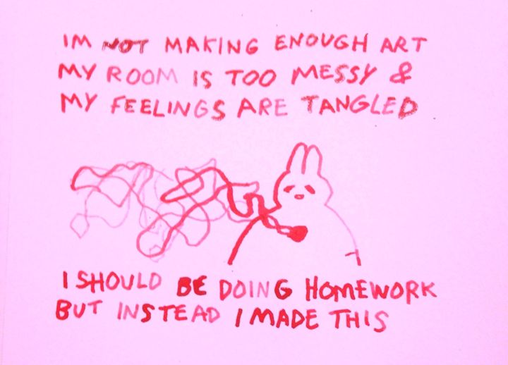 i should be doing homework but - elliebeanz