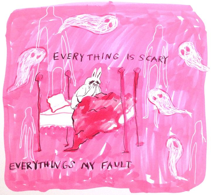 everything is scary - elliebeanz