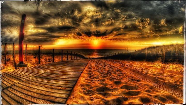 Ultra HD Landscape beach scenery - Mountain West Graphics
