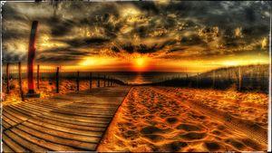 Ultra HD Landscape beach scenery