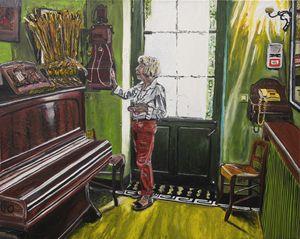 MarieClaude in the house of Van Gogh