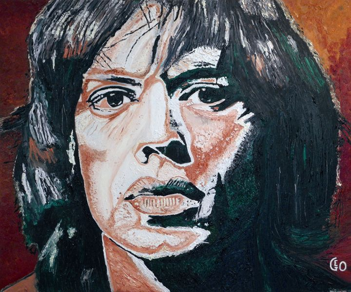 Mick Jagger in the 60s' - Geo