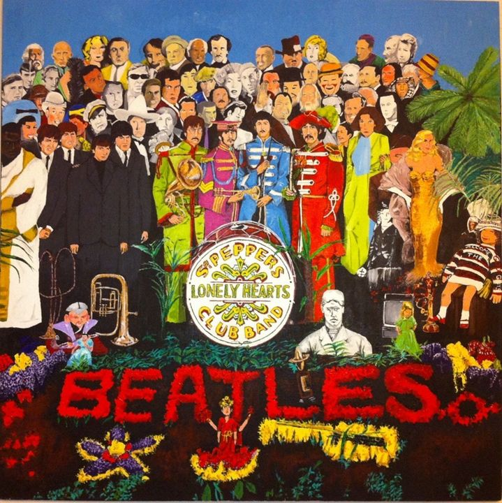 The Beatles Sgt Peppers - Ray Marin