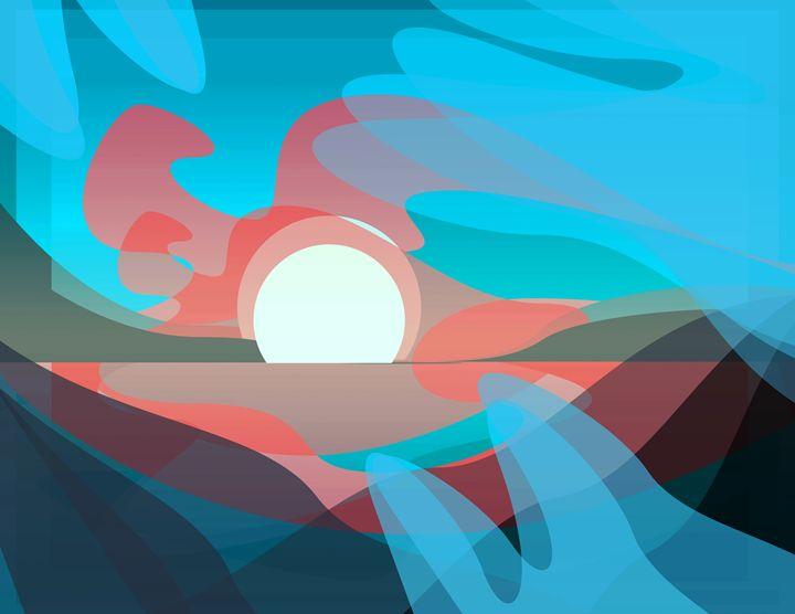 Shape's Landscapes - Azmi Al-Ghussain