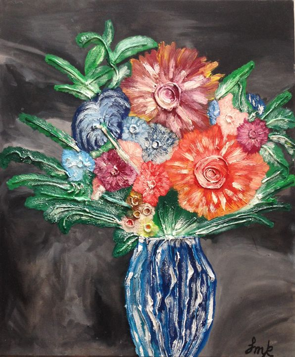 Imagine the smell of fresh flowers - jmk-artwork