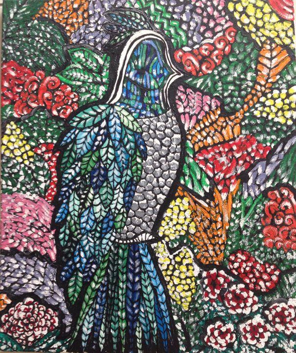 Bird in paradise - jmk-artwork