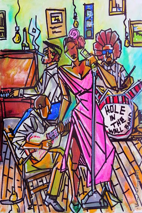 HOLE IN THE WALL BAND - Art 4Life