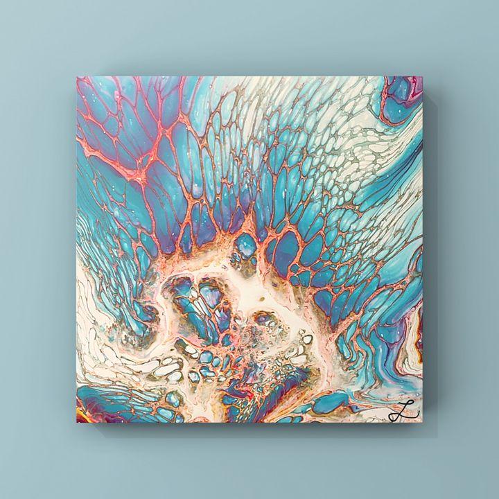 Ocean Coral - LaughyArtLand
