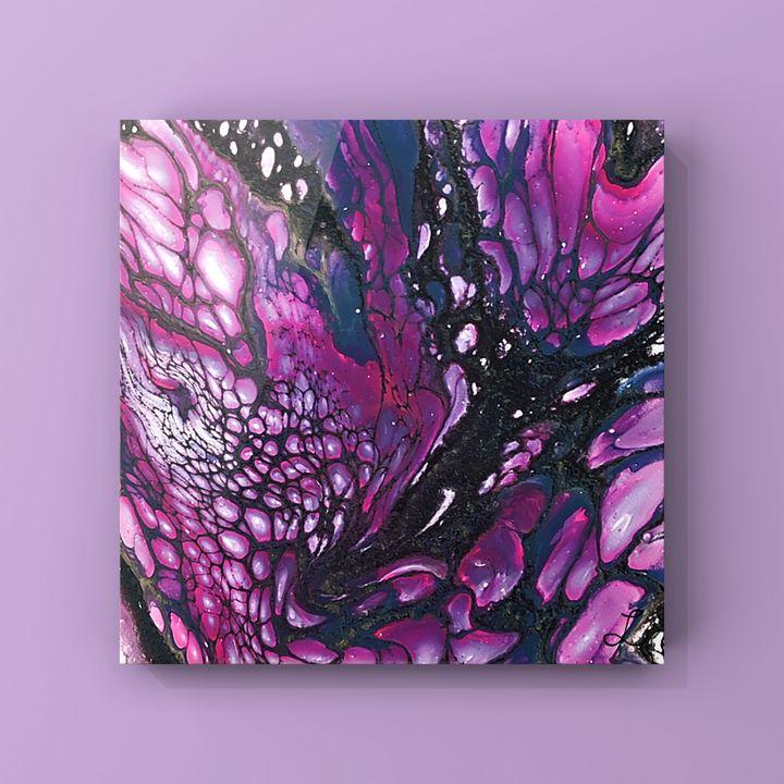 Starry Purple Night - LaughyArtLand