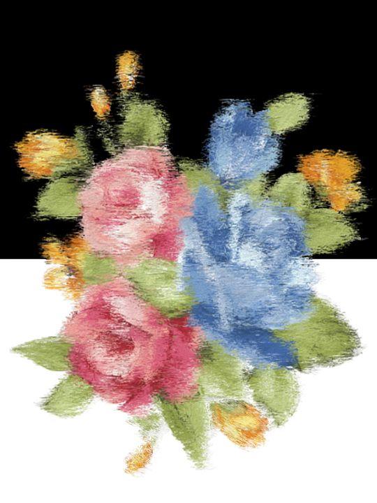 Bold Flowers - Blushing Meadow