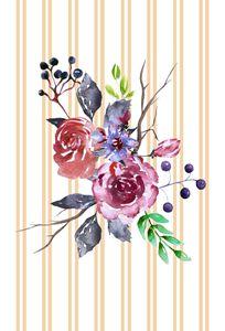 Purple & Burgundy Flowers
