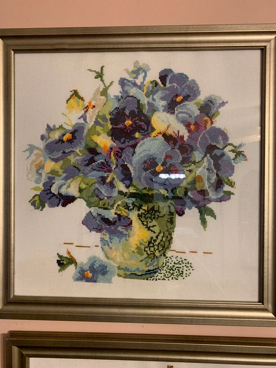 pansies flower - Bronya Vaserman