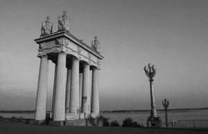 Soviet colonnade
