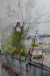 rainy day in darjeeling