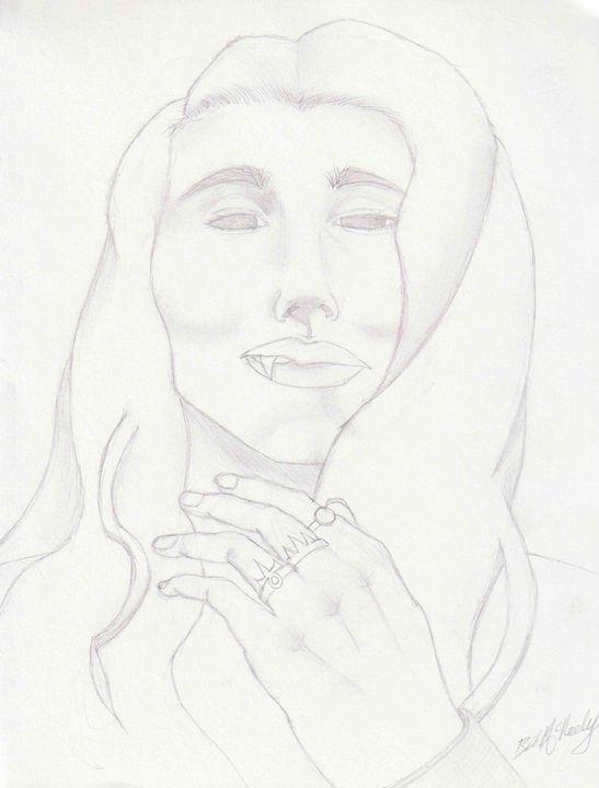 Vampire - Art by Alvinia