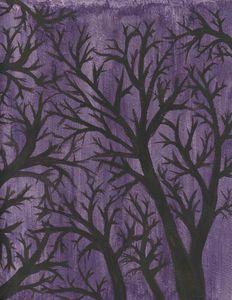Trees Of The Purple Night