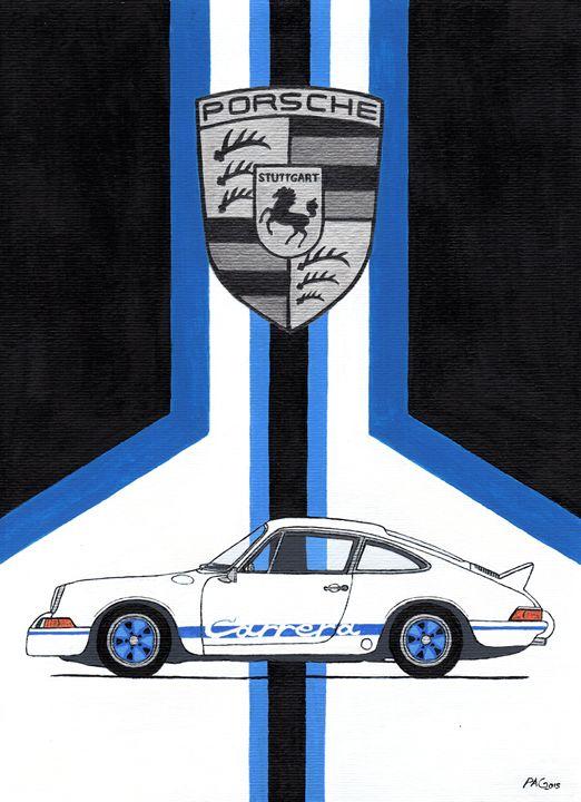 Porsche 911 Carrera - Paul's Automobile Art ( Paul Cockram )