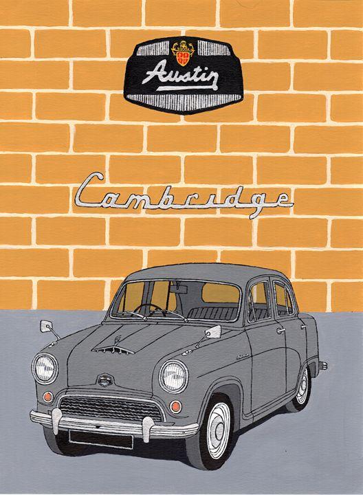 Austin Cambridge - Paul's Automobile Art ( Paul Cockram )