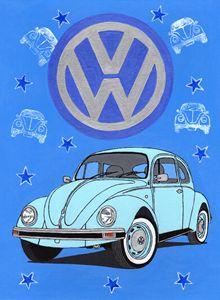 VW Beetle - Paul's Automobile Art ( Paul Cockram )