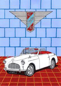 Austin A40 Sport - Paul's Automobile Art ( Paul Cockram )