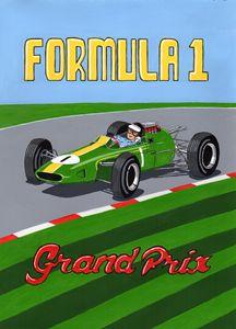 Retro F1 Poster - Paul's Automobile Art ( Paul Cockram )