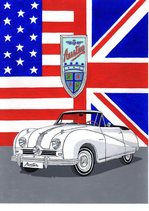 Austin Atlantic - Paul's Automobile Art ( Paul Cockram )