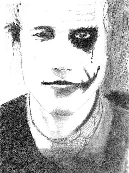 Heath Ledger \ Joker - Rotem Cohen's Portraits