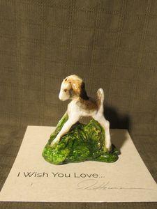 Hevener Goat Kid Miniature Figurine