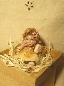 Hevener Baby Girl Miniature