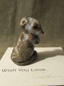 Hevener Mouse Miniature Figurine