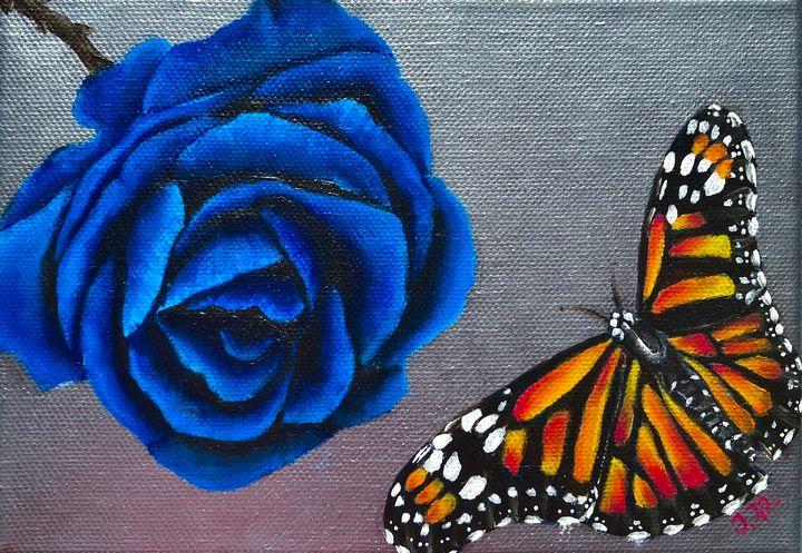 Nature's contrast - Vivid Expressions Art